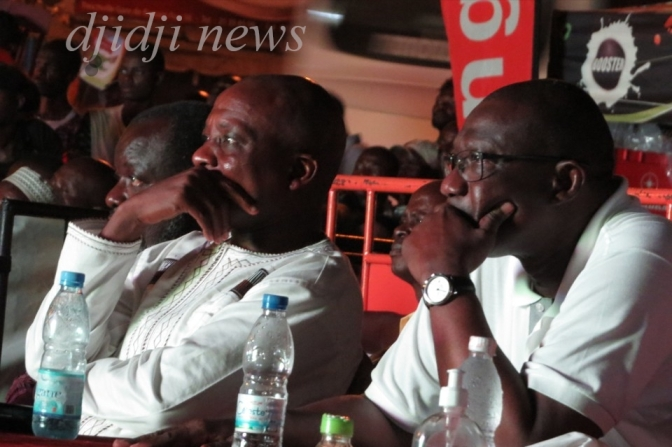 CAN Gabon 2017, le Maire Amichia a suivi la finale avec ses administrés.