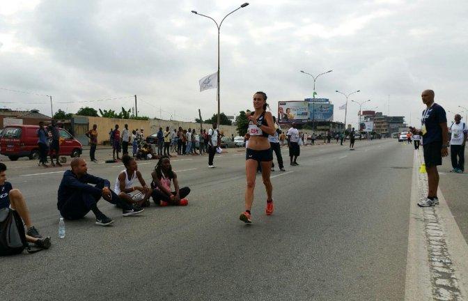 Athlétisme 20 km Marche / Les marcheurs Français en or.