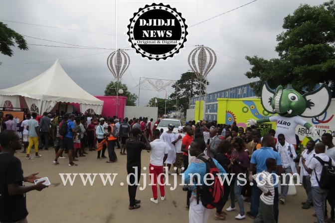 JF Abidjan 2017/ Kablan Duncan a ouvert le village Akwaba.