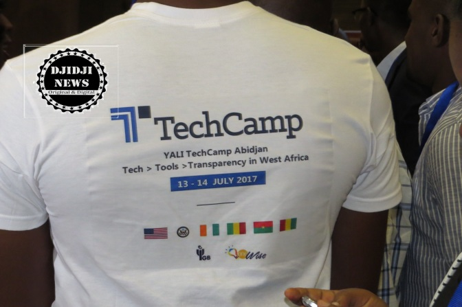 Abidjan accueille le Tech Camp.