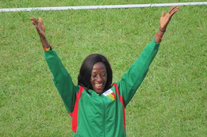 Athlétisme 400m (F) / Danté décroche l'or à Abidjan.