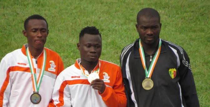 Handisport T45-46-47 (200m) Deux médailles de plus la Côte d'Ivoire.