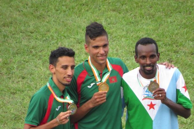 Athlétisme 5000m / Le Maroc remporte l'or et l'argent.