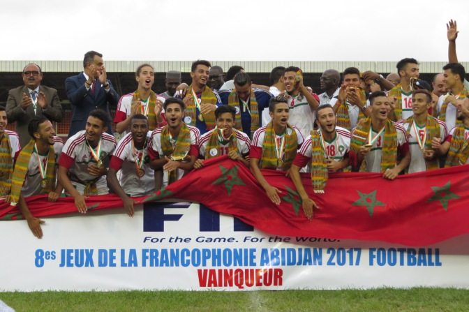 Football/ Le Maroc en or