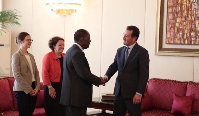 Le Royaume Uni aux côtés de la Côte d'Ivoire.